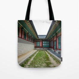 The Path Ends Here Tote Bag