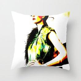 Vintage: Bea Throw Pillow