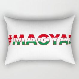 # Hashtag Magyar Rectangular Pillow