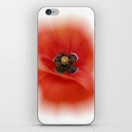 poppy zoom IX iPhone Skin
