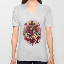 Soufflé Girl Unisex V-Neck