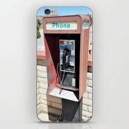 Where have all the pay phones gone? #1 iPhone Skin
