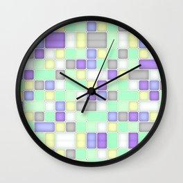 SQUARES Wall Clock