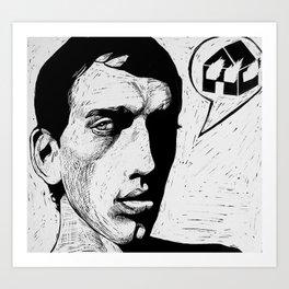 David Wojnarowicz (Burning House) Art Print