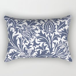 """William Morris """"Thistle"""" 8. Rectangular Pillow"""