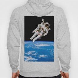 Astronaut Bruce McCandless Floating Free Hoody