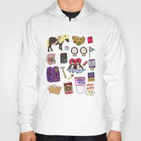 parks and recreation Hoodies featuring Parks & Recreation  by Shanti Draws