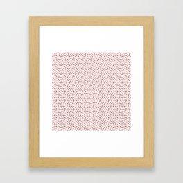 The Missing Letter Alphabet Framed Art Print