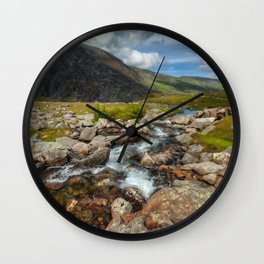 Welsh Valley Wall Clock