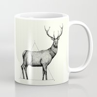 wildlife Mugs featuring 'Wildlife Analysis II' by Alex G Griffiths