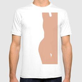 Nude silhouette figure - Nude pink 001 T-shirt