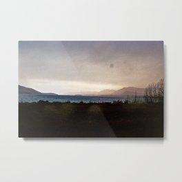 Lake Tekapo - Oil Painting Style Metal Print