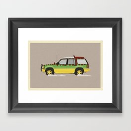 Explorer Framed Art Print