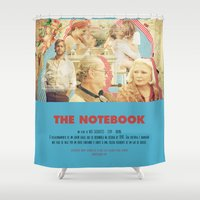 notebook Shower Curtains featuring The Notebook - Nick Cassavetes by Smart Store