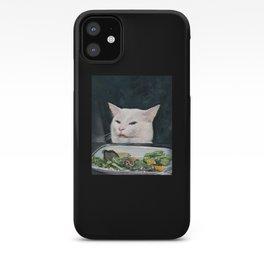Woman Yelling at Cat Meme-4 iPhone Case