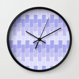 Running Bond - Dusk Wall Clock