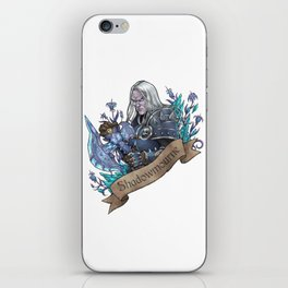Prince of Darkness iPhone Skin