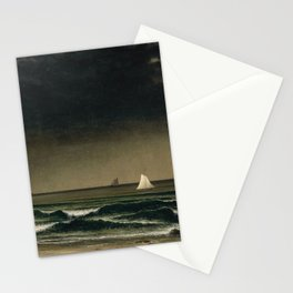 Approaching Storm by Martin Johnson Heade, 1861 Stationery Cards