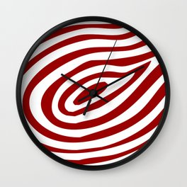 Rings of Life Print Wall Clock