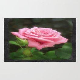 Pink Roses in Anzures 3 Blank P4F0 Rug