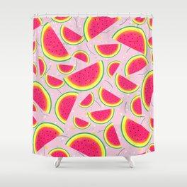 Melon Fiesta Pattern Shower Curtain