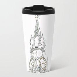 Kremlin Chimes- white Travel Mug