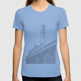 London Truman Chimney - Line Art T-shirt
