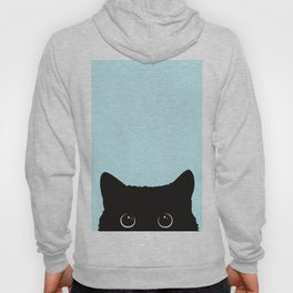 Black cat I Hoodie