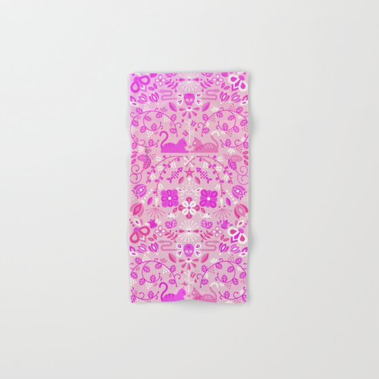 Kitten Lovers – Pink Ombré Hand & Bath Towel