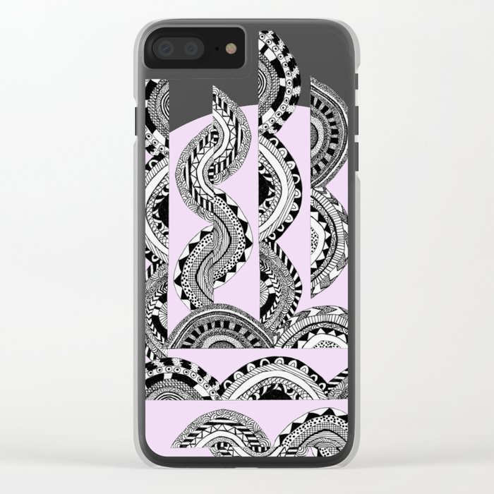 One Clear iPhone Case