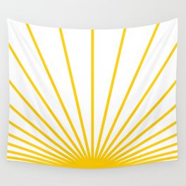 Ray of sunshine Wall Tapestry