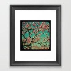 ttv Cherry tree Framed Art Print
