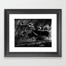 THE BAT Framed Art Print