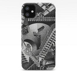 M.C. Escher - Relativity iPhone Case