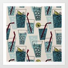 Drink More Water! Art Print