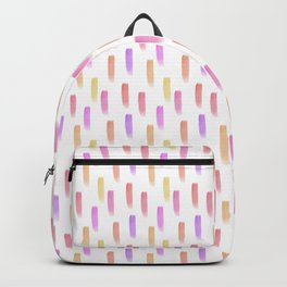 Bright watercolor pattern Backpack