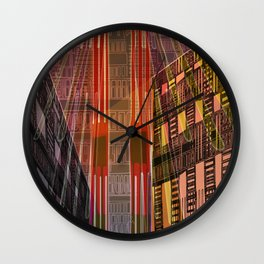 Atlante 01-06-16 / STRUCTURAL CIRCUITS Wall Clock