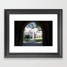 Princeton Arches Framed Art Print