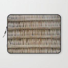 Wicker Weave Laptop Sleeve