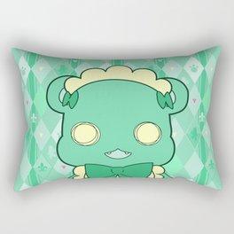 Monochromatic Kuma Lulu Rectangular Pillow
