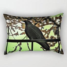 ...  the crow  ... Rectangular Pillow