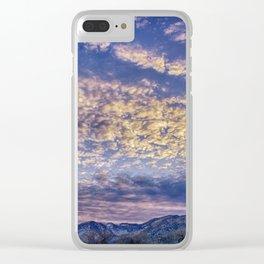 Weldon Winter Sky Clear iPhone Case