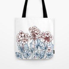 Pelargonium Tote Bag