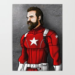 David Harbour as Red Guardian Poster