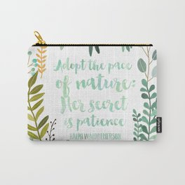 Emerson Quote Carry-All Pouch