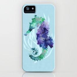 Mystical Seahorse iPhone Case