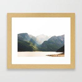 The Montana Collection - Lake Como Framed Art Print