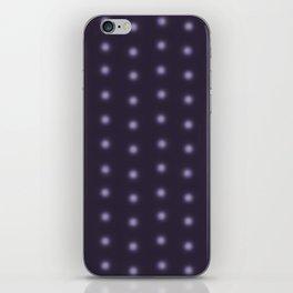 """Polka Dots Degraded & Purple shade of Grey"" iPhone Skin"
