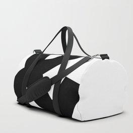 Ampersand (Black & White) Duffle Bag