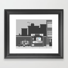 Another Grey Day Framed Art Print
